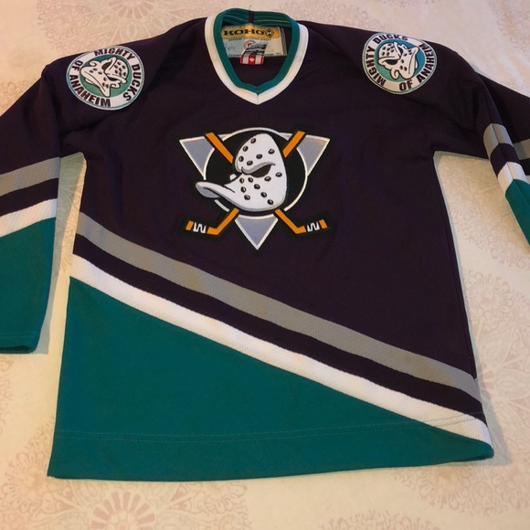 timeless design 460e2 4f6b8 Mighty ducks of Anaheim youth L/XL Jersey Official